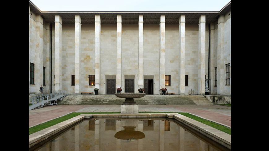 Muzeum narodowe, budynek