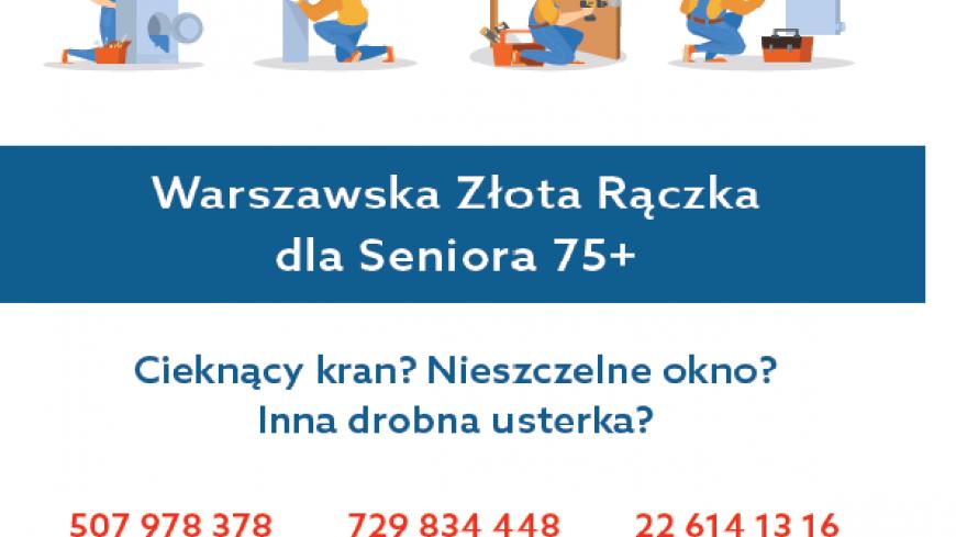 warszawska złota raczka dla Seniora 75+